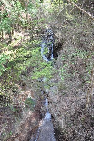 神末不動の滝下流