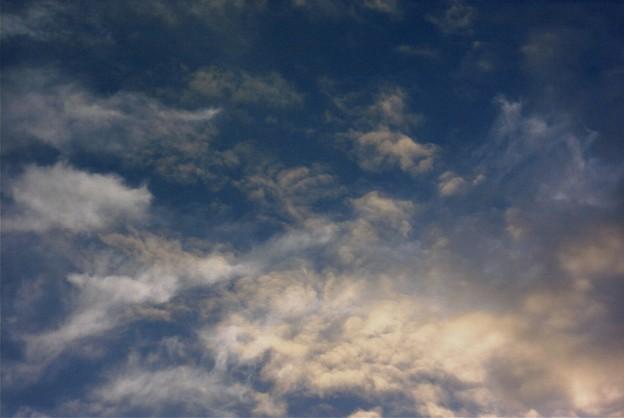 夕方の雲ー2