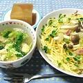 Photos: キャベツとベーコンのスパde晩ご飯12月5日☆032