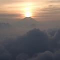 写真: 富士山噴火!? E-510でも撮ってみました (七面山登山5)