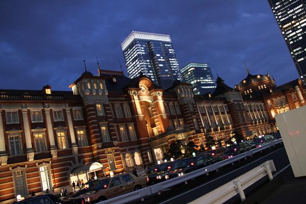 東京駅 夜景 1 5月1日