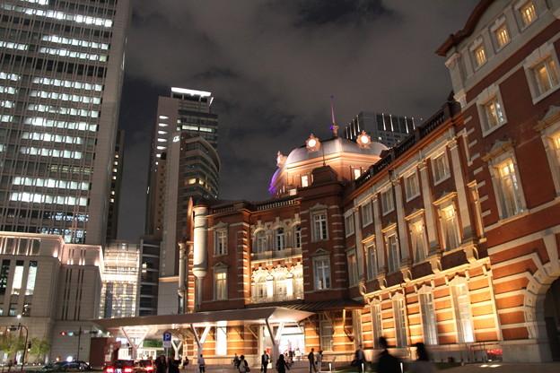 東京駅 夜景 3 5月1日