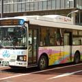 写真: 日野・レインボーII(CNGノンステ車)