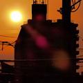 夕陽 2014.5.29