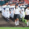 写真: 第90回高校野球県予選大会開会式8