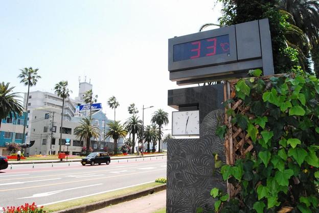 体感温度は33℃その2