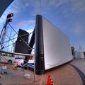 2014年5月24日 シズオカ×カンヌウィーク2014 海辺のマルシェ (9) 野外スクリーン HDR