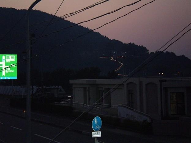 Photos: 津軽半島の夕焼け それはそれは暑い日だった