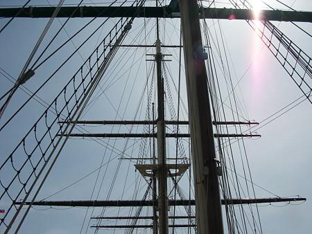 16.開陽丸甲板より