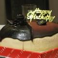写真: バースデーケーキ