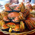 写真: 上海蟹