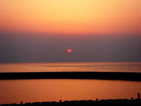 松崎の夕日