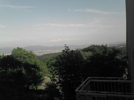 国営越後丘陵公園展望台から見た風景(1)