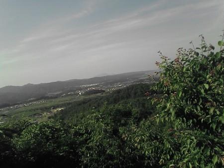 国営越後丘陵公園展望台から見た風景(2)