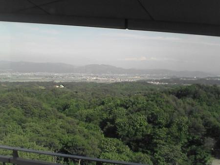 国営越後丘陵公園展望台から見た風景(3)