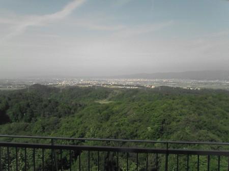 国営越後丘陵公園展望台から見た風景(4)