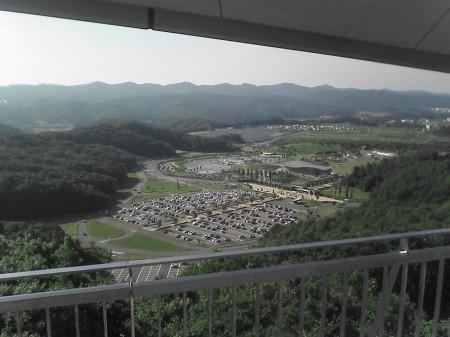 国営越後丘陵公園展望台から見た風景(5)