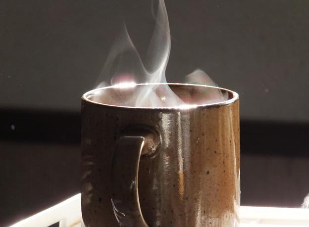 写真: 朝のコーヒー