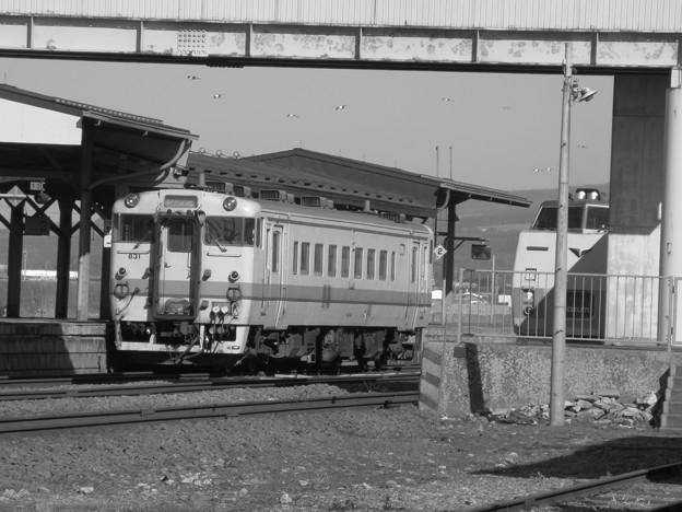 臨時特急と普通列車