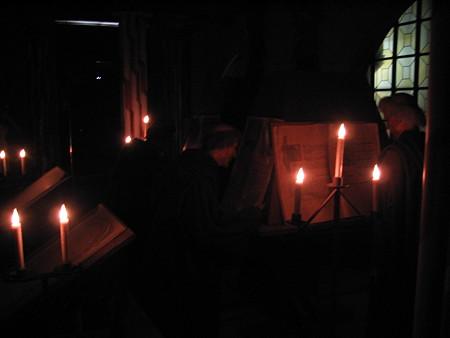 モン・サン.ミッシェルにて 修道士の生活2