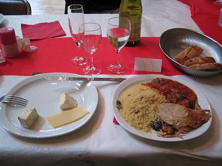 披露宴での食事