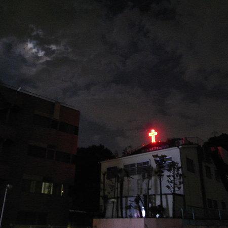 雲居月と十字