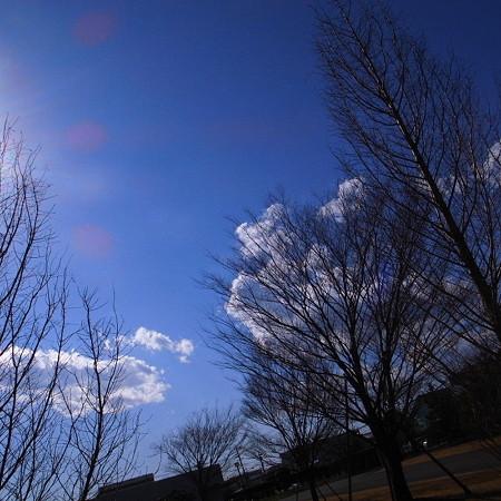 雲を乗せて