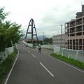 Photos: 白石サイクリングロード 虹の橋付近