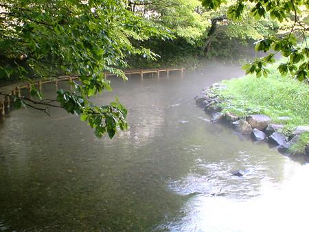 名水ふれあい公園 ナイベツ川