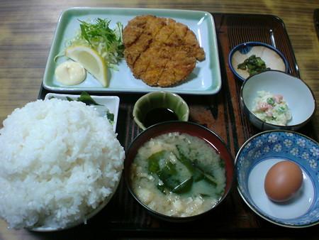 牛太郎 チキンカツ定食