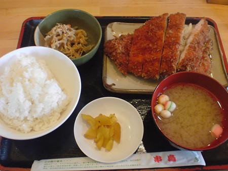 串鳥北広島店 ビッグチキンカツ定食
