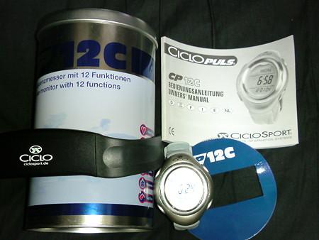 CICROSPORT ハートレートモニタ CP12C