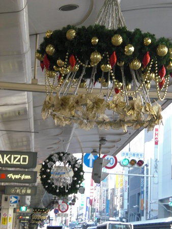 四条クリスマス飾り