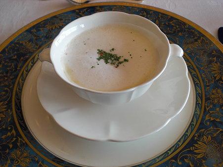 かぶのクリームスープ カプチーノ風