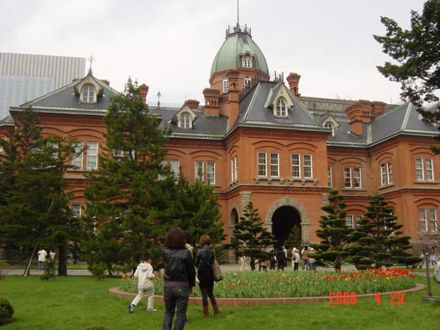 003.庁舎前も素敵なのです