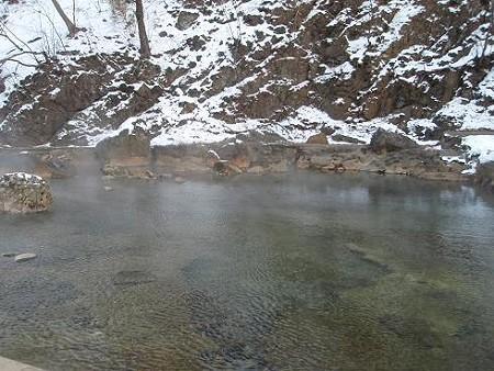 尻焼温泉 露天 川の湯