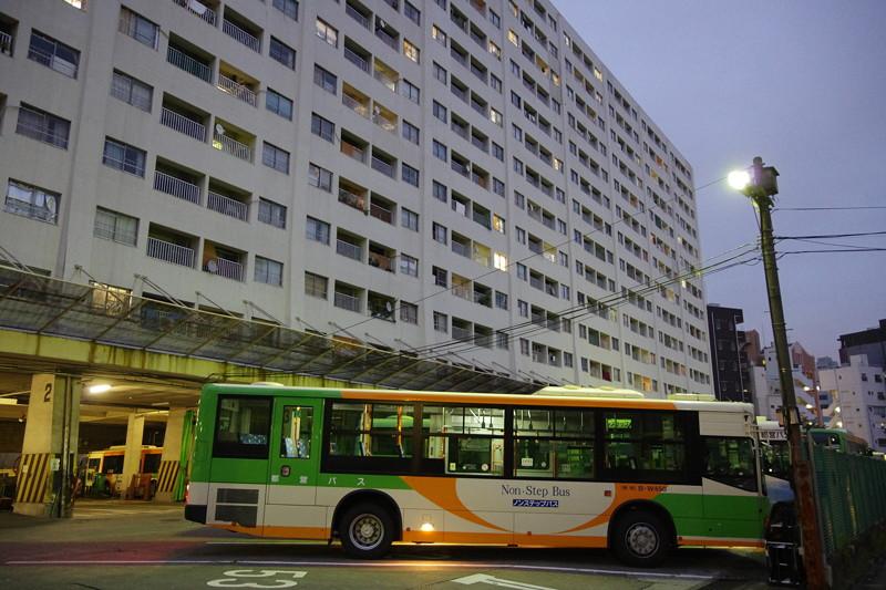 都バス車庫1