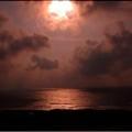 Photos: 山形県鶴岡市湯の浜 海岸夕景