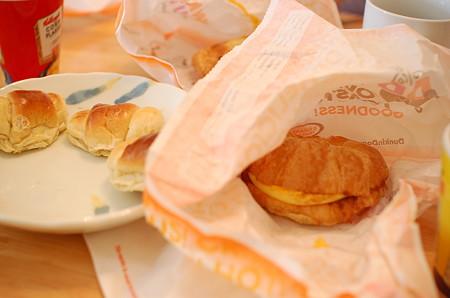 ダンキンドーナツの朝食