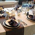 写真: クリスマステーブル見本