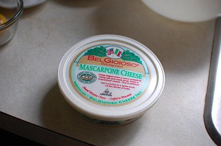 Trader Joe'sで買ったマスカルポーネチーズ