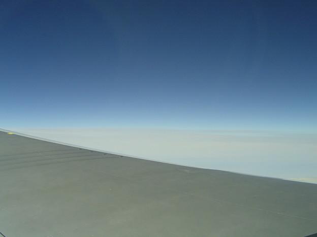 JAL便よりの景色