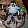 Photos: Happy Feetの誕生日ケーキ