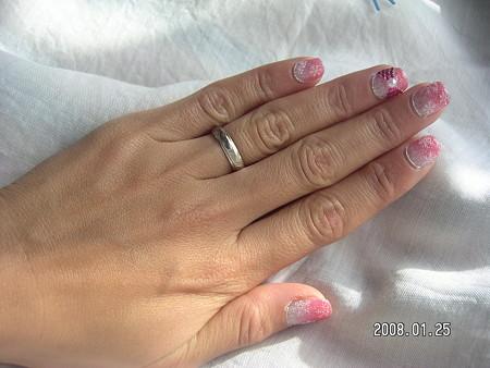 Powder Pink Nail