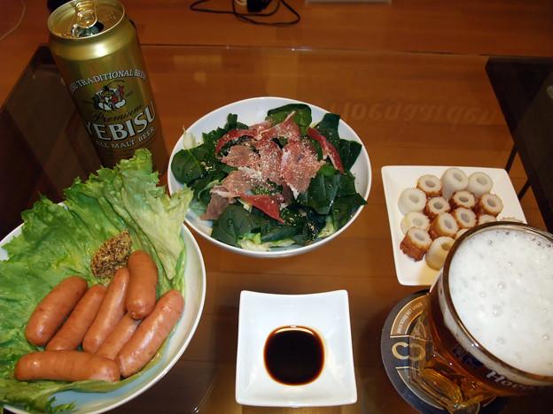 Photos: ほうれん草サラダ