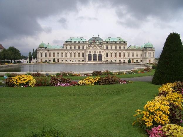 ベルヴェデーレ宮殿 CIMG0163