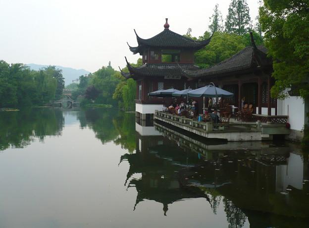 杭州西湖・茶楼