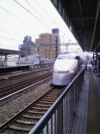 080809-浜松から新幹線 (1)