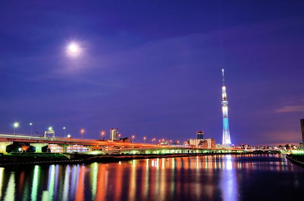 東京スカイツリー(白髭橋から)