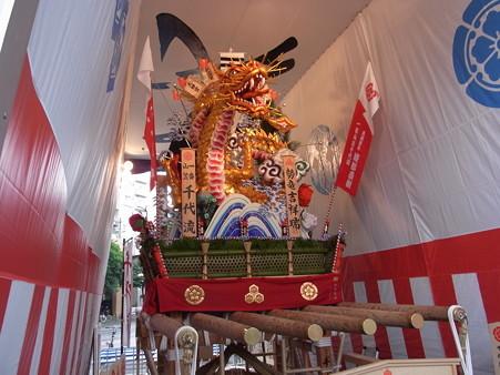 33 博多祇園山笠 千代流 舁き山 黄金のドラゴン 勢竜吉祥瑞(せいりゅうきっしょうのしるし)2012年 写真画像7